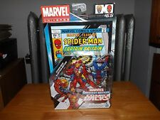 MARVEL UNIVERSE GREATEST BATTLES COMIC PACK, SPIDER-MAN & CAPTAIN BRITAIN, NIP