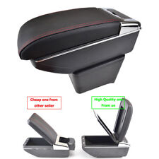 Dual Layer Centre Console Armrest For VW Polo 9N 9N3 02-09 Storage Store Content