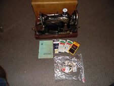 SINGER sewing machine Model 28? With Case & Accessories