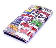 Hülle f Sony Xperia S Lt26i Schutzhülle Tasche Case Cover Comic Crash Emoticons