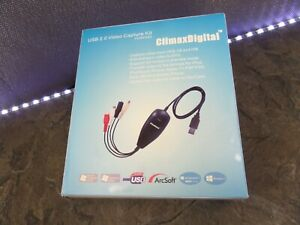 CLIMAXDIGITAL VCAP302 USB 2.0 VIDEO CAPTURE KIT WINDOWS VISTA 7 8 10 MAC