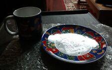 Gha. Santa's Snack Set in box. 1993. Mug and plate set.
