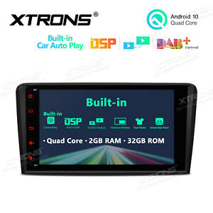 """XTRONS for Audi A3 S3 RS3 8"""" Android 10.0 Car DAB Radio Stereo GPS Head Unit DSP"""