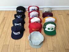 Lot of 13 - Snapback Strapback Hats Vintage Random Sports Vtg 90s