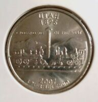 40 Unopened Bank Roll 2007-D Utah Quarter Uncirculated