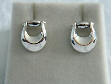 Clogau Silver & Rose Welsh Gold Wales Polo Earrings RRP £129.00