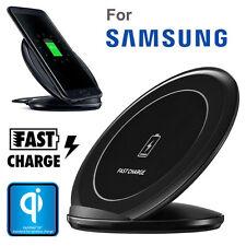para Samsung Galaxy S8 S8 Plus S7 Fast Qi Cargador inalámbrico