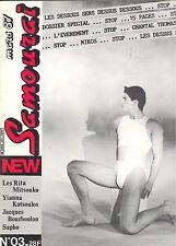 Samouraï n°3 Les rita Mitsouko Yianna Katsoulos Jacques Bourboulon Sapho  gay