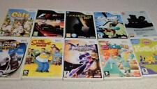 Nintendo Wii GAMES BUNDLES X 15 lot 3 nights