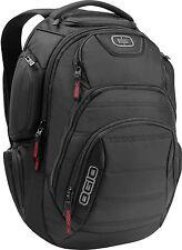 "Ogio Renegade RSS Backpack Rucsack Cycling 17"" Laptop Bag School Black"