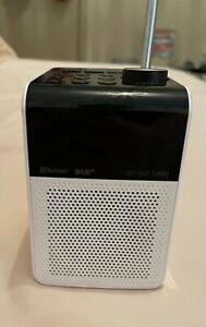 Panasonic RFD20U Portable FM/DAB Radio - White