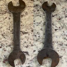 Williams & Co Brooklyn NY Check Nut Wrench Open End 3/16 Mechanics 7/16 Tool 632