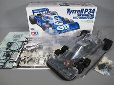 Tamiya R/C 1/10 Tyrrell P34 6 Wheeler Racing F103 Racing Car Partial Built 84263