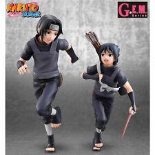NARUTO SHIPPUDEN - Itachi Uchiha & Sasuke 1/8 Pvc Figurine G.E.M. Megahouse