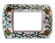 placca copri interruttore in ceramica a 4 fori LIV TS