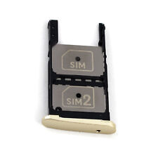New Sim Tray Slot Micro SD Card Holder for Motorola Moto Z Play Droid Gold