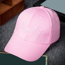 Summer Kids Baby Boy Girl Adjustable Baseball Cap Unisex Embroidery Snapback Hat