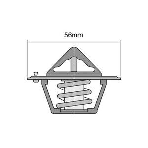 Tridon Thermostat (High Flow) TT294-183 fits Subaru Impreza 2.5 (GG), 2.5 RS ...