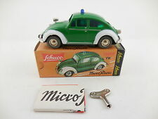 Schuco Micro Racer 1039P VW Volkswagen Bug Police Polizei Wind Up Car New in Box