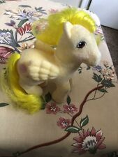 Vintage G1 MLP So Soft LOFTY Hot Air Balloon Fuzzy Flocked