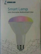 lohas led smart lamp with dimmable multicolored color