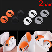 Silicone Case Cover Earphone Tips Anti Slip Earbud For Apple AirPods Earpods New