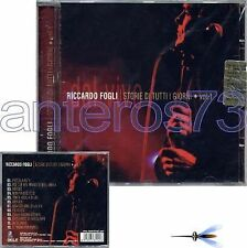 "RICCARDO FOGLI ""DAL VIVO VOL.1"" RARO CD - I POOH"