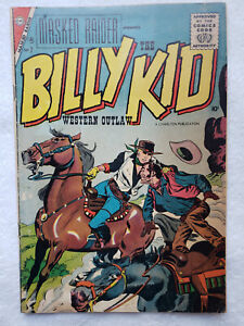 Masked Raider #7 (May. 1957, Charlton) [VG 4.0] featuring Billy the Kid