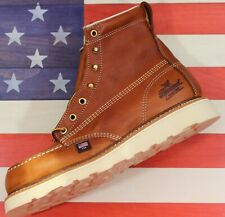 """Thorogood American Heritage 6"""" Safety Steel Toe Work Boot [804-4200]Defect 8.5 D"""