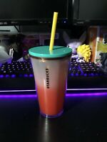 Starbucks Summer 2 Frosted Watermelon 16 Oz Red Grande Tumbler Cold Cup 2020
