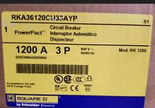 New In Box Square D Rka36120cu33a 1200a 600v Rated I Line Circuit Breaker
