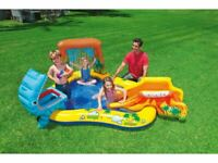 Intex Kids Inflatable Play Centre Swimming Paddling Pool Water Dinosaurs