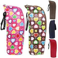 Portable Baby Kid Feeding Milk Bottle Warmer Thermal Storage Holder Carrier Bag