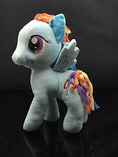 "My Little Pony 12"" Plush Rain Now Dash Gorgeous Blue  Multi Color"