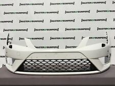 SEAT LEON FR 2013-2016 FRONT BUMPER IN WHITE GENUINE [O51]