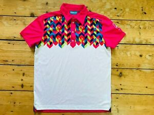 Bunker Mentality GOLF  SHIRT Size Large Multicoloured Casual Golf Jersey