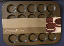 20-Cavity Crate & Barrel Pie Baking Pan Non-Stick and Dishwasher-Safe  NEW