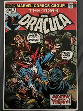 Tomb of Dracula 13 Mid to High Grade 7.0-8.0 Origin Of Blade