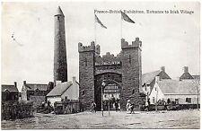 P.C Entrance To Irish Village Franco British Exibition London 1908 Pub Valentine
