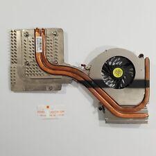 HP EliteBook 8740w Nvidia Kühler Lüfter Wärmeleitpaste Fan Heatsink 597571-001