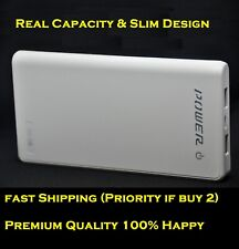 Premium Power Bank 12000mAh Slim Portable Battery Fast Charger For Phone IPAD US