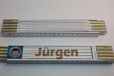 Zollstock mit Namen            JÜRGEN              Lasergravur     2 Meter