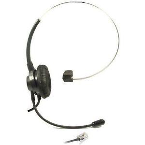 Kensing Lcap Mono Über-kopf- Headset Für Cisco IP Telefon Mit Headset Stecker