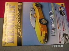 * Fascicule Renault Collection Alpine A610