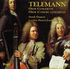 CD TELEMAN OBOE & OBOE D'AMORE & TRIPLE CONCERTOS VOLUME 2 SARAH FRANCIS