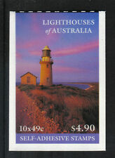 Australia 2002 Australian Lighthouses sa booklet-Attractive Topical (2052a) Mnh
