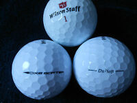 "20 WILSON STAFF - ""DX2 SOFT"" -  Golf Balls - ""MINT/PEARL""  Grades."
