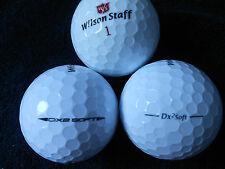 """20 WILSON STAFF - """"DX2 SOFT"""" -  Golf Balls - """"MINT/PEARL""""  Grades."""