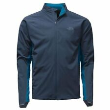 NWT 2XL NORTH FACE Isolite zip Performance Run Cycle Water Resistant Jacket Blue