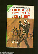 TOUGHEST TOWN IN THE TERRITORY-T West & GUNS AT Q CROSS-  SB Ace Dbl  M-118